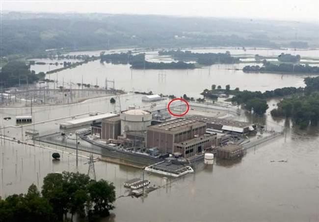 АЭС Форт Калхун затоплена