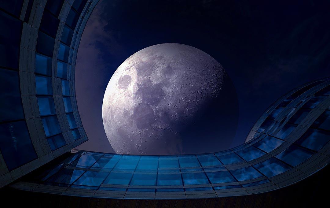 Лунная радиация